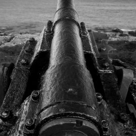 'From the Deep' Gun from the wreck of the Nevada