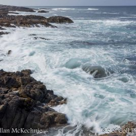 'Wildest Sea' Clabbach Coastline