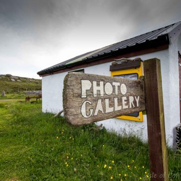 Clabbach Roadside Photo Gallery NOW OPEN Isle of Coll Photographics